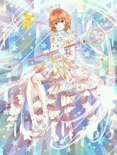 Cardcaptor Sakura, Star Wand, Card Captor, Clear Card, True Nature, Kokoro, Anime Manga, Kawaii Anime, Romantic