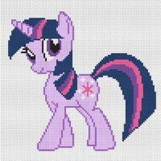 MLP Twilight Sparkle pattern by Geek Stitch