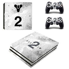 Destiny 2 ps4 pro edition skin decal for console and controllers
