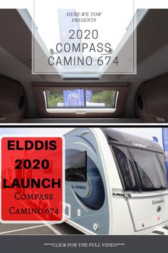 We were fortunate enough to be invited to the press launch for the 2020 Elddis range. Here we got to look around all the new vans that will be on the market for the upcoming year. Check out this first look at the all new Compass Camino Caravan Makeover, Business Emails, Caravans, Compass, Over The Years, Caravan Reviews, Product Launch, Social Media, Range