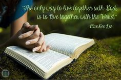 live together with the word