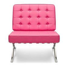 Pink Barcelona Chair