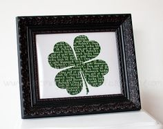 Lots of Free Printable St. Patrick's Day Art