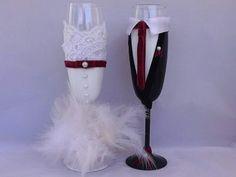 Ποτήρια Σαμπάνιας Μπορντό 40.00€ Flute, Champagne, Tableware, Dinnerware, Tablewares, Flutes, Dishes, Tin Whistle, Place Settings