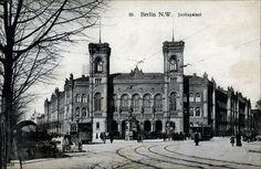 Berlin - Justizpalast in Moabit, Außenansicht um 1908