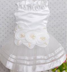 10pcs pet dog cat fashion lace tutu wedding bride dress dog's cat's lovely princess skirts clothes puppy dresses pets products #Affiliate