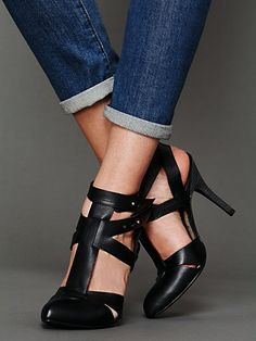 Free People Utility Heel at Free People Clothing Boutique