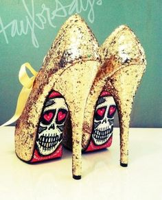 See that's the problem every time I see heels first thing I think is my mom Tammy must own a pair of these!!:)))