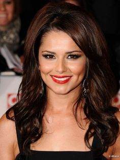 cheryl cole hair color | Cheryl Cole goes big hair at the 'National Television Awards' held at ...
