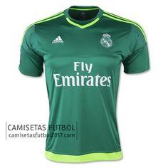 Segunda camiseta de tailandia Portero Real Madrid 2015 2016   camisetas de futbol baratas