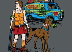 I always favored Velma over Daphne, because Velma was super smart and super capable. And post-non-zoonotic-zombie-apocalypse Velma and Scooby saving the world needs to happen.