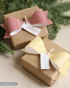 Brown Paper Packages Tied Up With EVERYTHING {including string!} - One Good Thing by JilleePinterestFacebookPinterestFacebookPrintFriendly
