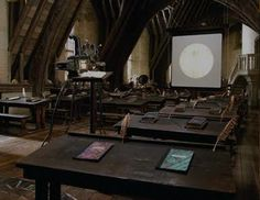 Defense Against the Dark Arts Class - Hogwarts