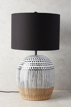 Uteki Painted Table Lamp Diesel with Foscarini Pipe Media floor lamp, mesh (black mesh) DieselDieselDiesel with Foscarini Pipe Media floor lamp, mesh (black mesh) DieselDieselStylish Black Ceramic Vase Lamp with Gray Linen ShadeStylish black ceramic Metalarte, Battery Powered Led Lights, Painting Lamps, Table Lamps For Bedroom, Lamp Table, Unique Lamps, Modern Lamps, The Design Files, Black Lamps