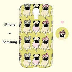Hey, I found this really awesome Etsy listing at https://www.etsy.com/listing/189840777/pug-iphone-casepug-samsung-casepugiphone