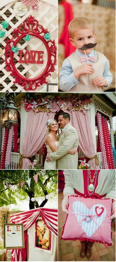 This wedding rocks! I LOVE the overdone pinwheels/paper flowers/fabulousness