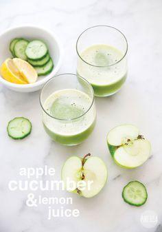 Pure Ella | Clean Slate Cookbook Giveaway + Apple, Cucumber & Lemon Juice Recipe #detox #healthy #cleaneating #giveaway www.pureella.com