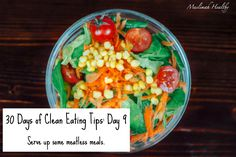 Clean Eating Tip #9: Serve up some meatless meals! Click the image to join my fb group for daily, in-depth tips!
