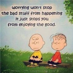 So, don't worry . . .