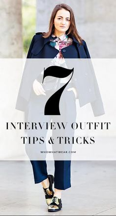 7 outfit tips you need to know before your next interview.