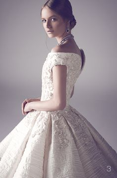 nothing less than royal for your big day: Mohammed Ashi's Fall 2014 Couture Bridal Gowns