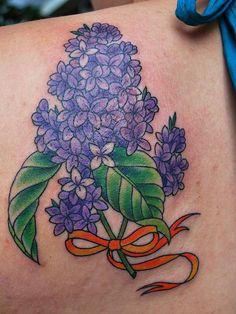 lilac tattoo designs
