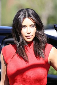 Kim Kardashian. See the 10 best bobs in Hollywood. (They're perfect spring hair inspiration.)