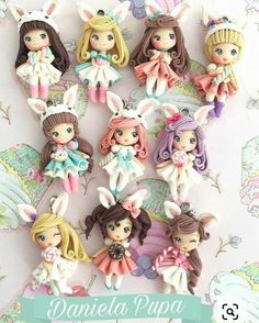 Handmade Dolls, Princess Peach, Biscuit, Pasta, Clay, Birthday, Fictional Characters, Cold, Baby Dolls