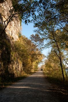 Katy Trail, photo courtesy of the Missouri Division of Tourism.
