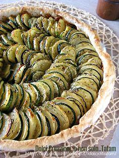 Teglia di zucchine e patate agli aromi   ricetta leggera