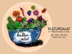 """""""Kultursalat"""" auf Kloster Posa"""
