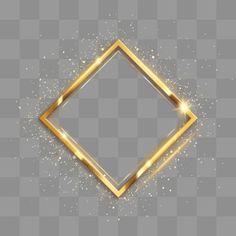 Moldura Quadrada Dourada Metalica De Alto Brilho Brilhar Realcar Metal Imagem Png E Psd Para Download Gratuito Molduras De Quadros Molduras Design De Cartao