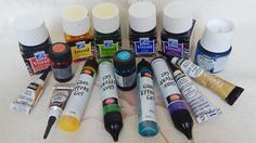 Etsy - About RichanaDragon ||| Vitrage paints and other materials
