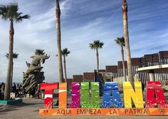 Aquí empieza la patria #Tijuana #BajaCalifornia Aventura por vivianp