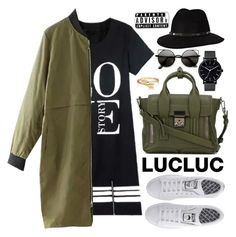 """""""Lucluc"""" by oshint ❤ liked on Polyvore featuring adidas, 3.1 Phillip Lim, The Horse, Anine Bing, CellPowerCases, Bling Jewelry and lucluc"""