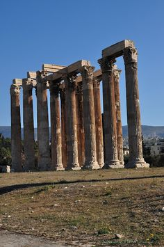 TRAVEL'IN GREECE I Temple of Olympic Zeus, #travelingreece