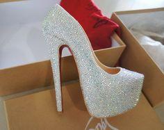 christian louboutin wedding shoes fake