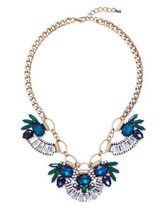 Peacock Necklace by JewelMint.com, $29.99