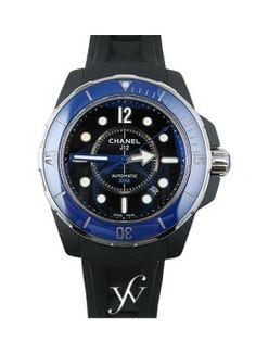 Chanel J12 42mm Marine Automatic [ FinestWatches.com ] #Chanel #watch #design
