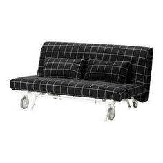 IKEA PS LÖVÅS Sofa bed - Rute black - IKEA