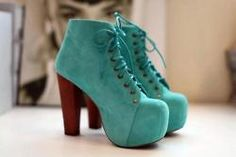 Blue and beautiful. Shoes.
