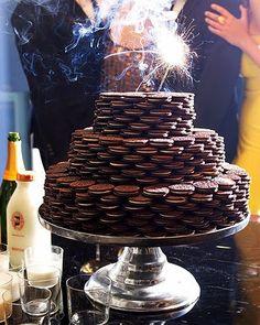 cookie birthday cake!