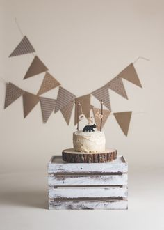 How adorable is the little black bear and 'one' banner? Boys First Birthday Party Ideas, Baby Boy First Birthday, First Birthday Photos, Birthday Pictures, 1st Birthday Parties, 1 Year Birthday, Birthday Gifts, 1st Birthday Photoshoot, Cake Smash Photos