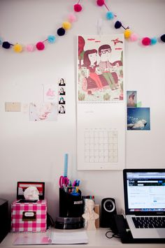 lightning-heart:    New blog post // already set for next year    you have a beautiful workspace