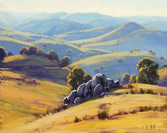 beautiful australian landscape pics | Beautiful Examples of Landscape Paintings Kanimbla Valley Australia