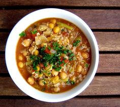 chickpea, rice & pasta soup | Everybody Likes Sandwiches