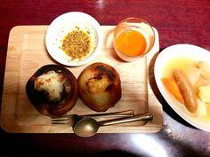 昨日の残り物寄せ集め - 16件のもぐもぐ - ポトフ チーズパン  シナボン by yuhikoha4