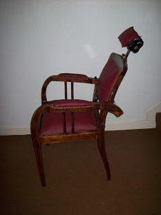 Les Décos d'Emeline: fauteuil de barbier vintage