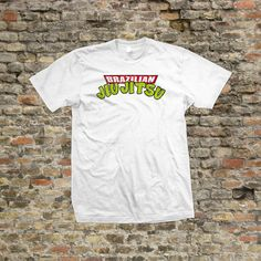 Jiu brasileño Jitsu BJJ tortuga T Shirt 100% algodón  1038