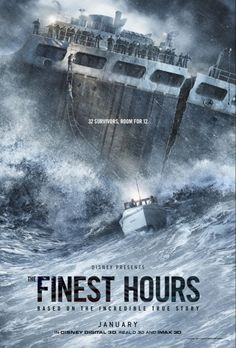 Check out the heroic action-thriller trailer for Disney's THE FINEST HOURS